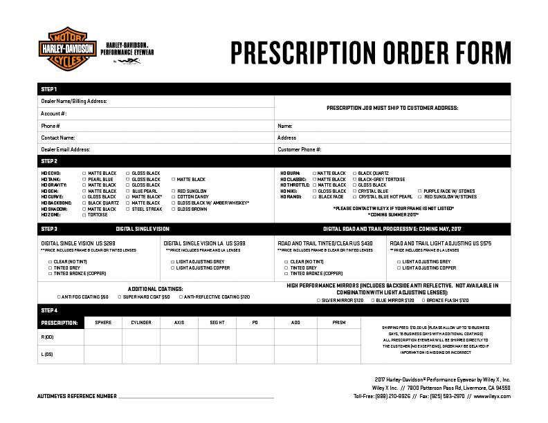 Prescription Form